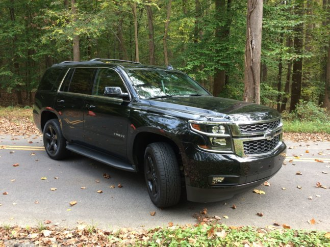 2018 Chevrolet Tahoe Lt A Large Old School Suv With Added Luxury
