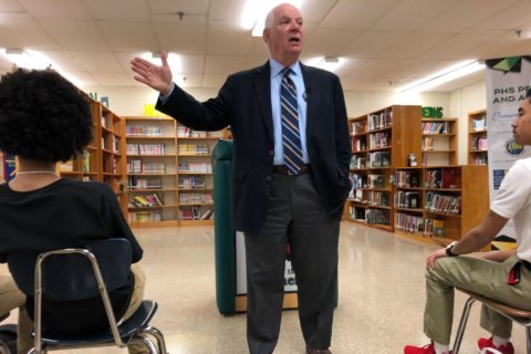 Maryland Sen. Ben Cardin talks gun control, school safety at Parkdale High