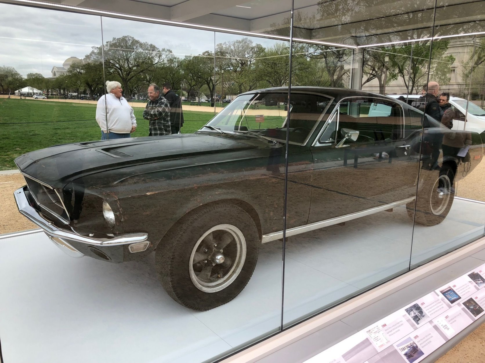 Two identical 1968 Mustang GT fastbacks were used in the movie, but after filming, the cars went their separate ways. (WTOP/John Aaron)