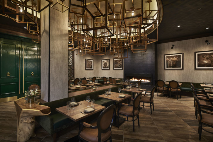 U201cYouu0027re Not Forced Into Being In A Restaurant, But Youu0027re Engaged Within  The Restaurant,u201d Said Jason Maringola, Who Helped Design The Isabella  Eatery Food ...