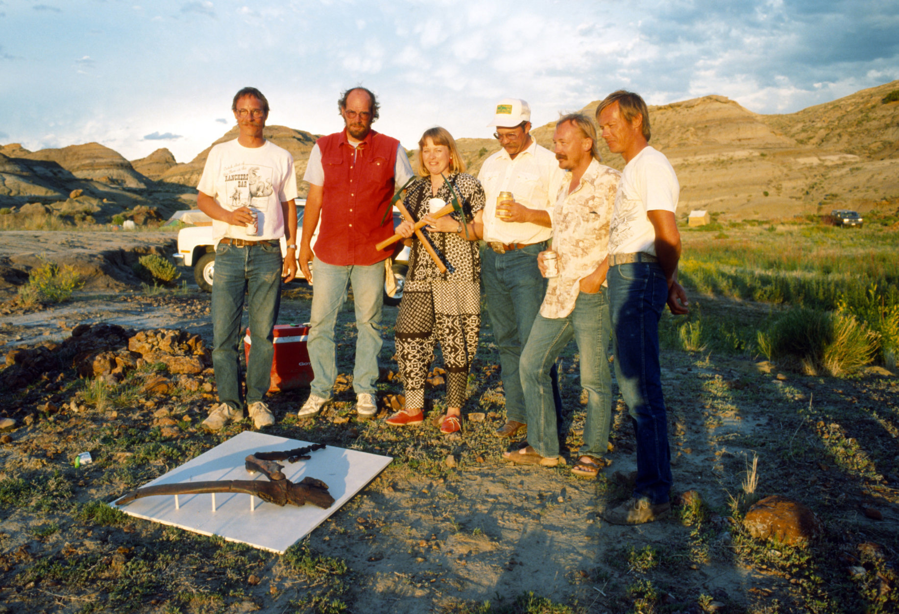 Discovered by Kathy Wankel in 1988 near Fort Peck Reservoir in eastern Montana, 80 to 85 percent of the Wankel T. rex remains were recovered. That makes it one of the most complete T. rex specimens ever unearthed. (Courtesy Museum of the Rockies)
