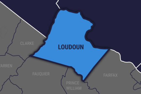 Woman dies after car goes airborne, crashes into fence in Loudoun Co.