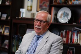 Dr. Kevin Maxwell's departure was announced earlier this week. (WTOP/Kate Ryan)