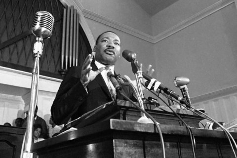 AP PHOTOS: 50 years after MLK's death, a look at his life