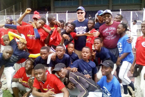 Local youth coaches drive effort to spread baseball in Nigeria