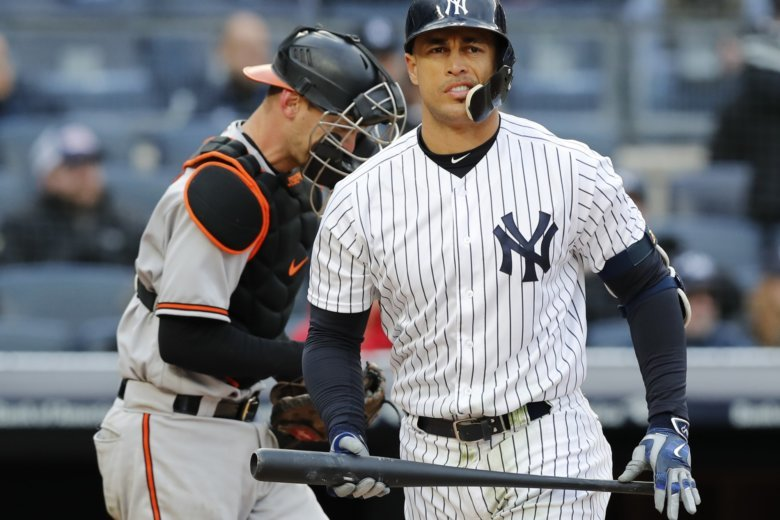 Yankees slugger Stanton shrugs off strikeout spree