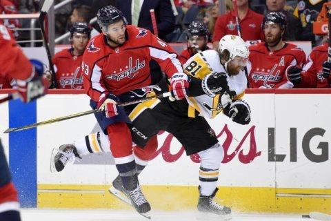 Capitals expected to deploy same lineup in Game 3 in Pittsburgh