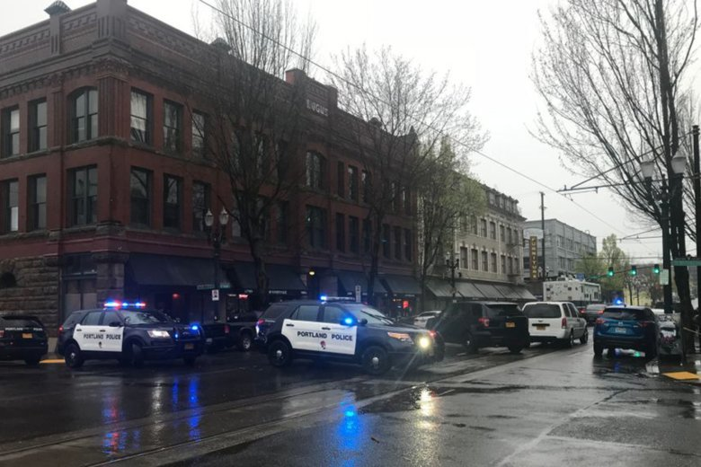 8 law officers involved in Portland shooting
