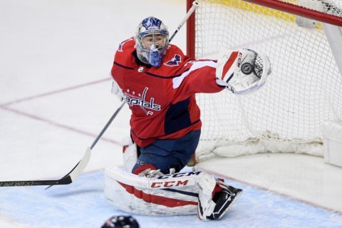 Capitals tab Philipp Grubauer to start Game 1: 'It's a privilege'