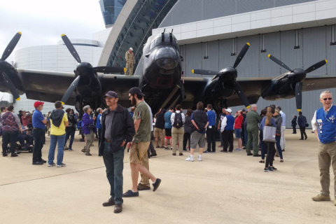 Air and Space Museum celebrates British Royal Air Force centennial