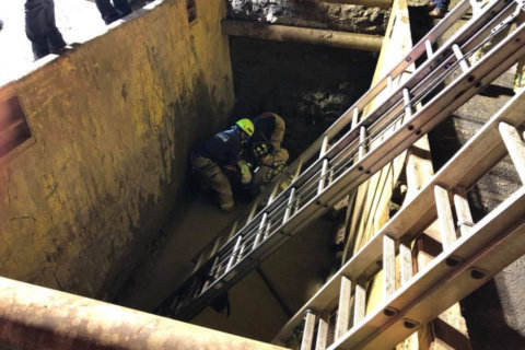 Worker rescued from partial trench collapse in Woodbridge