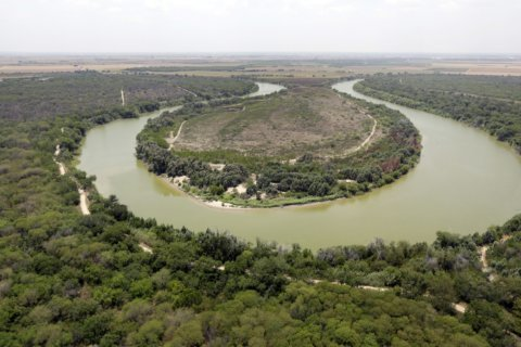 On the lower Rio Grande, a glimpse at the border Trump wants
