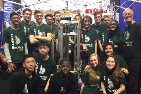 Va. high school robotics team heading to world championship