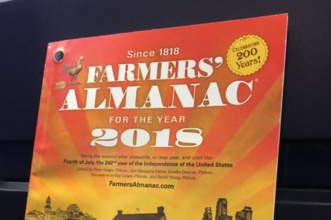 Farmers' Almanac: Hot, hazy, humid, wet summer forecast for region