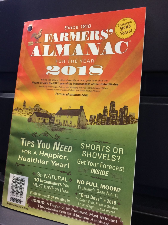Farmers' Almanac: Hot, hazy, humid, wet summer forecast for region