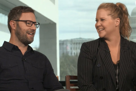Q&A: Amy Schumer, Rory Scovel break down the belly laughs of 'I Feel Pretty'