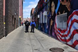 A tour of the history of the U Street corridor and Shaw neighborhood encompass the second half of the training day, following a tour of the Smithsonian National Museum of African American History and Culture. (Courtesy DC Police)