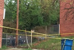 The Chief Medical Examiner determined that the skeletal remains found Saturday were both female. (WTOP/John Domen)