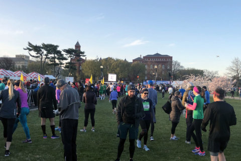 Roads reopen after annual Cherry Blossom Ten Mile Run