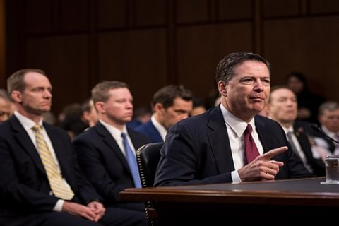Comey says Trump asked if he could disprove salacious prostitute allegations in 'dossier'
