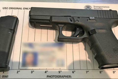 Man arrested for bringing loaded gun to BWI Marshall Airport security checkpoint