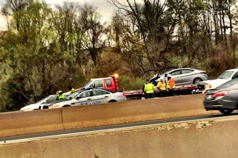 1 dead after westbound I-66 crash