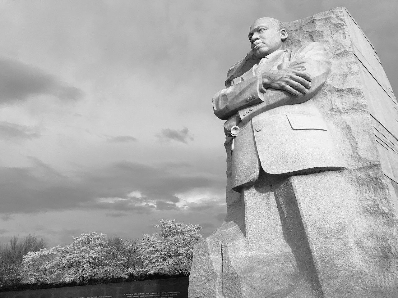 The Martin Luther King, Jr. Memorial. (WTOP/Neal Augenstein)