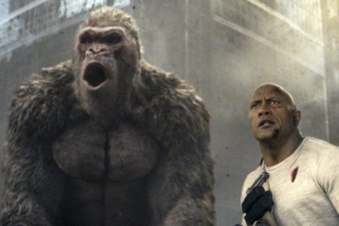 Movie Review: Unlike 'A Quiet Place,' 'Rampage' is a lazy creature feature