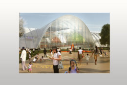 Plans for RFK Stadium include playing fields and a market place. (Courtesy Events DC)