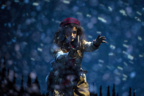 Magical musical 'Snow Child' makes its wintry world premiere at Arena Stage