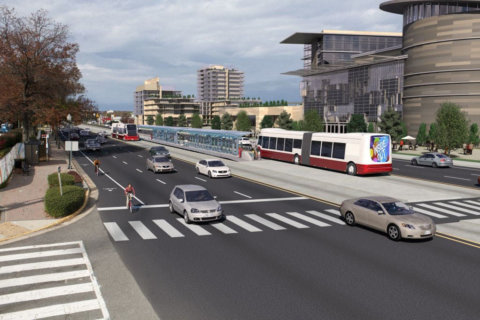 New details on construction of Route 7 rapid bus stations, lanes