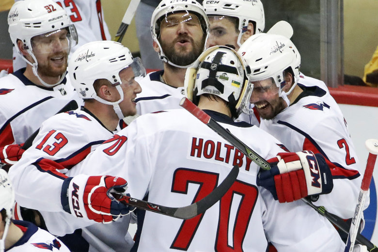 Stanley Cup: Washington Capitals draw level with Vegas Golden Knights
