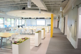 SparkPost's new Columbia headquarters boasts modern design and an open floor plan for easy cross-department collaboration. (Courtesy SparkPost)