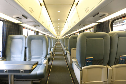 Acela gets interior redo; old leather to become purses