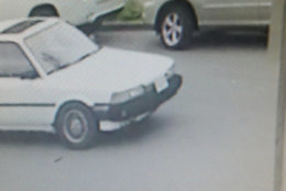 D.C. police released these photos of the car of the suspect in a triple shooting in Southeast D.C. May 31. (Courtesy D.C. police)