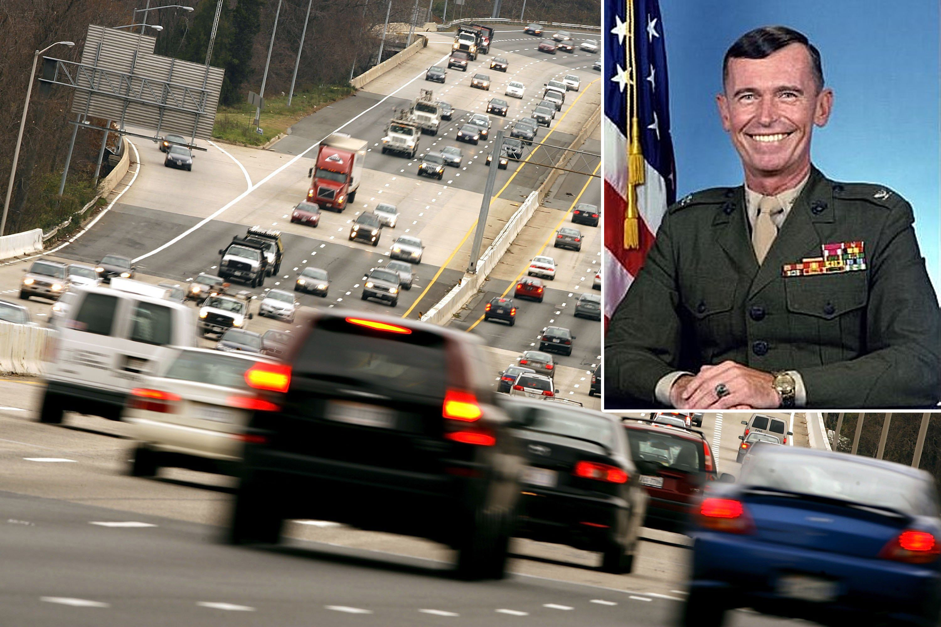 Obit for retired Va  Marine Corps Col  slams DC-area drivers
