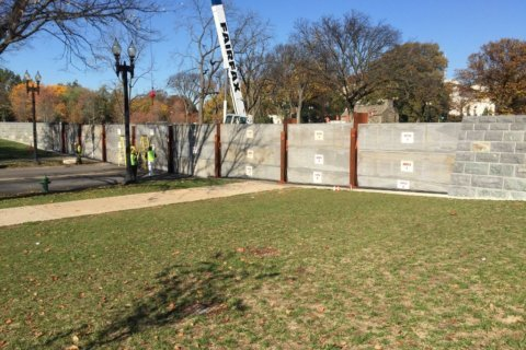 Why 17th Street near National Mall is closed