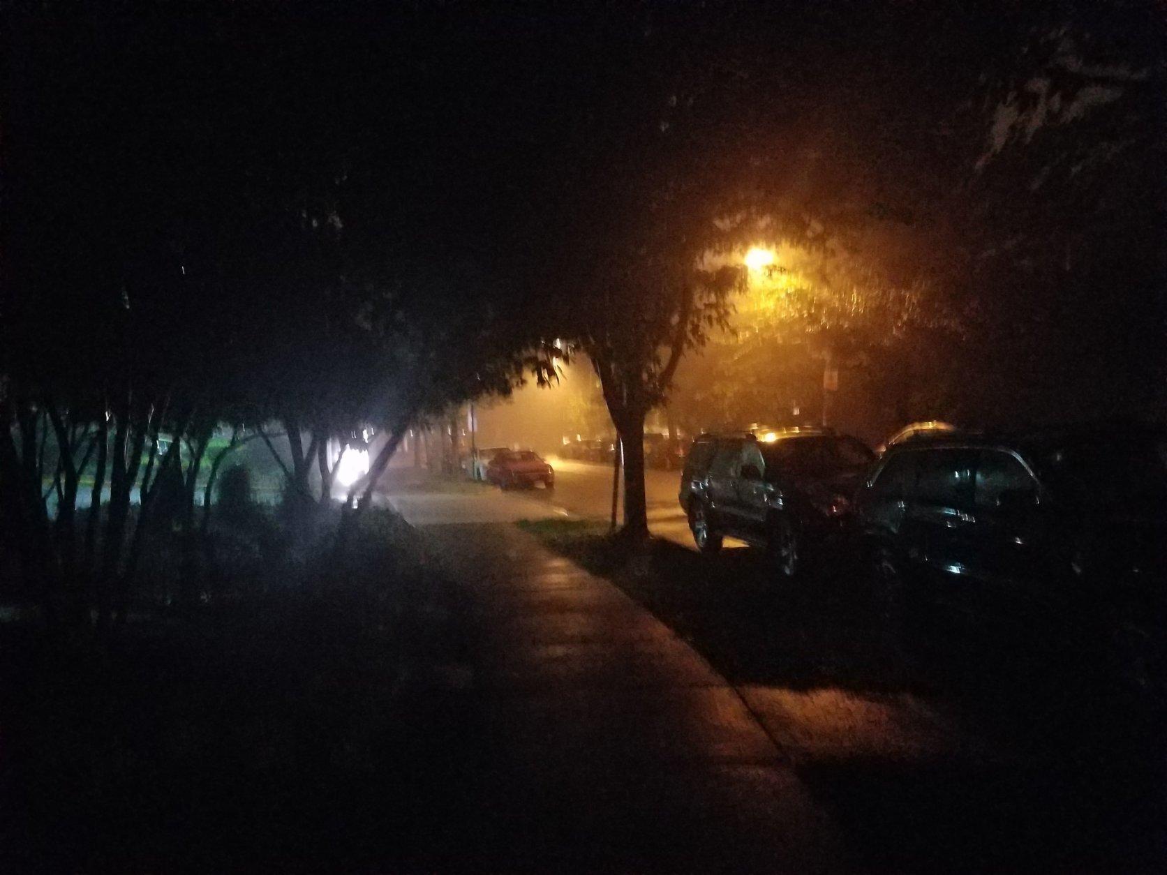 Fog hit the D.C. area Thursday morning. (WTOP/Will Vitka)