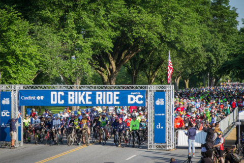 Road closures for DC Bike Ride this weekend