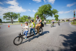 For a few hours on May 19, 20 miles of the District's most scenic roads will be closed to cars and open to bicyclists for the third annual DC Bike Ride. (Abram Eric Landes/Courtesy DC Bike Ride)