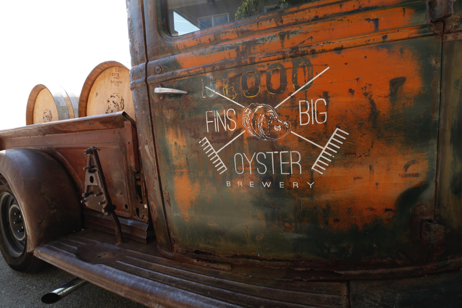 Big Oyster Brewery in Lewes, Delaware is a popular beach brewery. (WTOP/Kate Ryan)