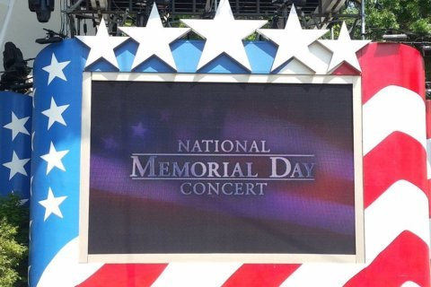 National Memorial Day Concert honors military heroes