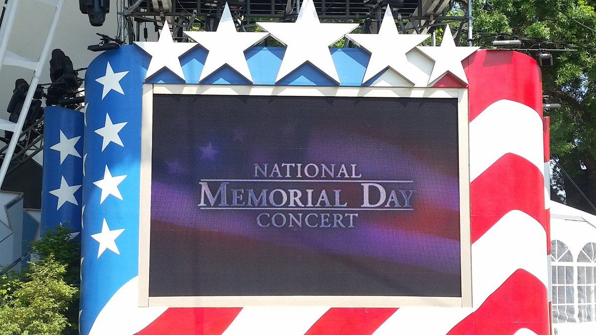 Memorial Day would not be complete without D.C.'s annual National Concert and Saturday marked rehearsals for the anticipated event. (WTOP/Kathy Stewart)