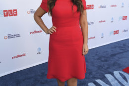 """IMAGE DISTRIBUTED FOR DISCOVERY COMMUNICATIONS - Monica Lewinsky attends TLC's inaugural """"Give A Little Awards"""" in partnership with Redbook Magazine and PACER's National Bullying Prevention Center to honor those who are making a difference in the fight against bullying on Wednesday, Sept. 27, 2017 in Los Angeles. (Jordan Strauss/Discovery Communications via AP Images)"""