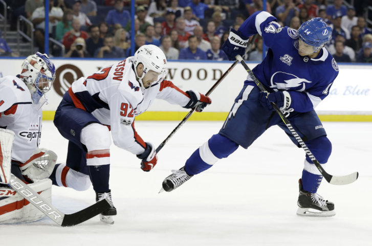 Here s a shock  Lightning enforcing dress code against Capitals fans ... e8dd836f7
