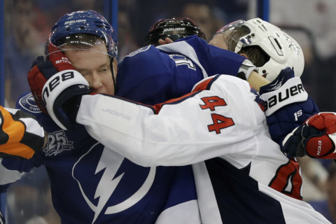 Here's a shock: Lightning enforcing dress code against Capitals fans