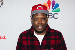 Michael Che attends NBC's Red Nose Day entertainment charity event at The Hammerstein Ballroom on Thursday, May 21, 2015, in New York. (Photo by Charles Sykes/Invision/AP)