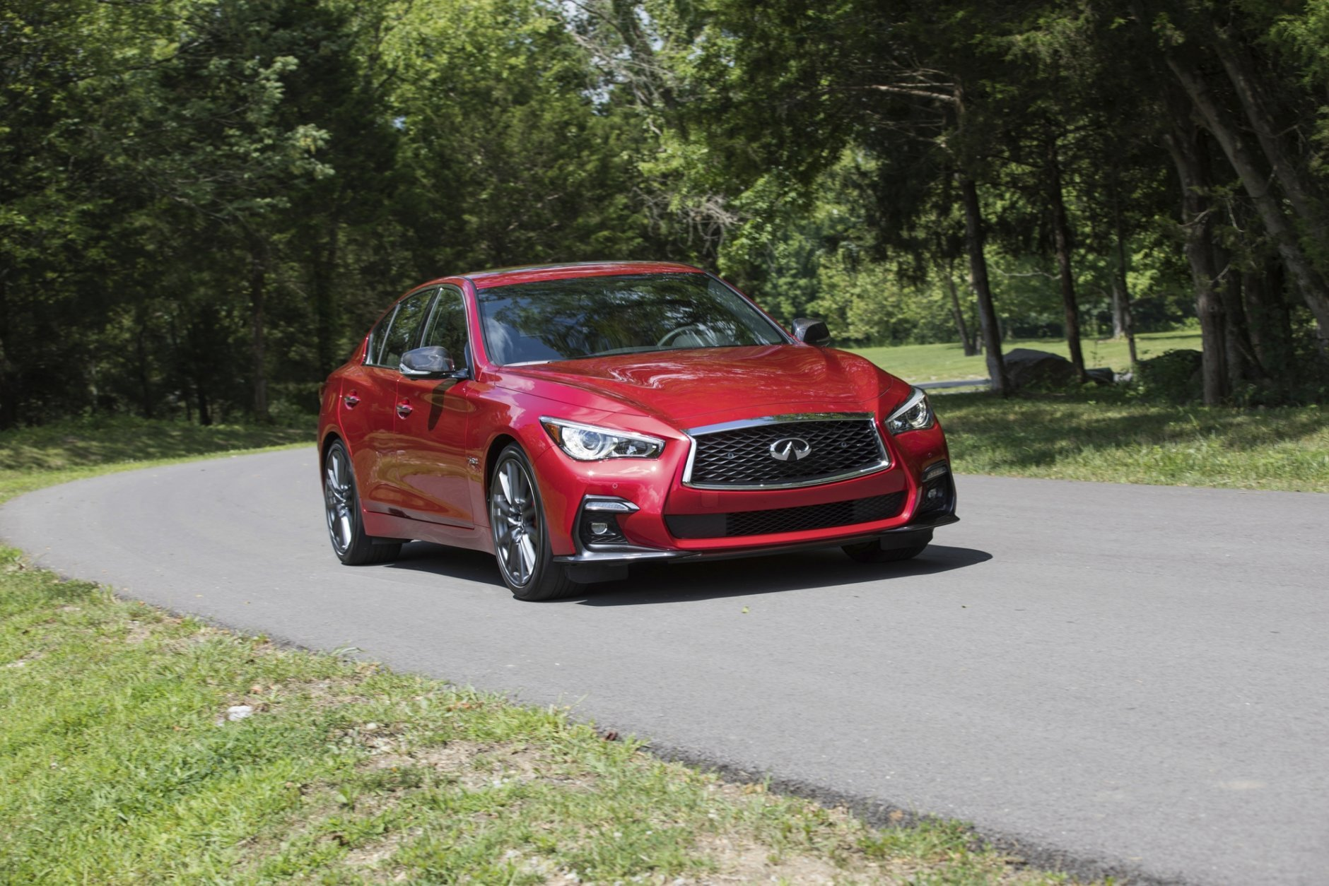 <h3>Infiniti Q50 4-door</h3> <p>The Infiniti Q50 is a popular luxury sedan that doesn&#8217;t skimp on power, with some models pushing 400hp.</p> <p>Maybe the combo of power and class is what gives it the allure for thieves. It&#8217;s stolen 5.25 times the national average.</p>