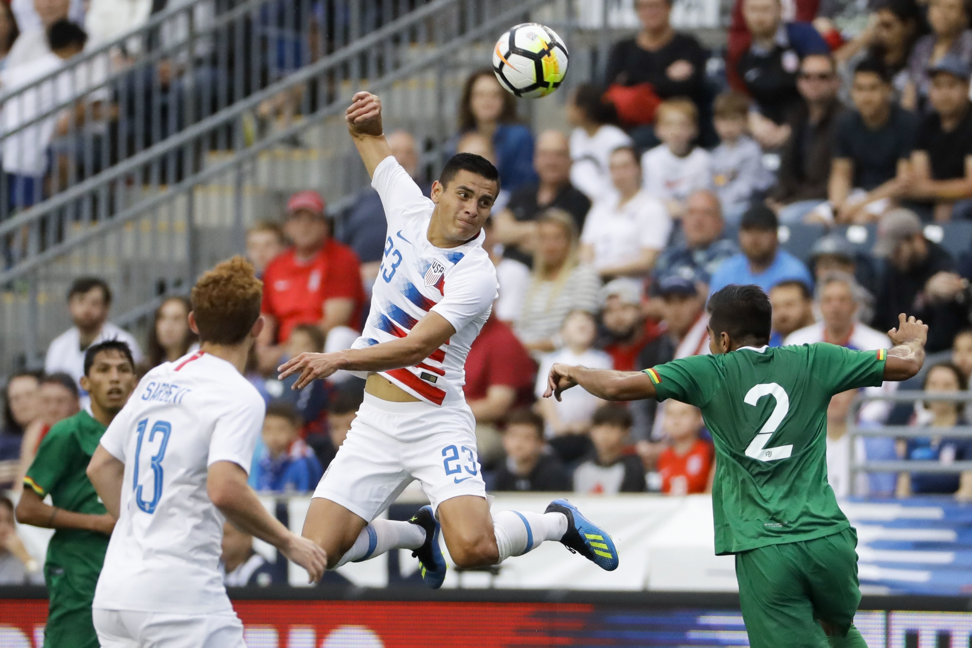 460732c3359 (AP) — Josh Sargent scored in his American debut, fellow 18-year-old Tim  Weah added a goal in his second international match and a young United  States team ...