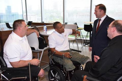 Military members' service honored through startup money, Segway chairs